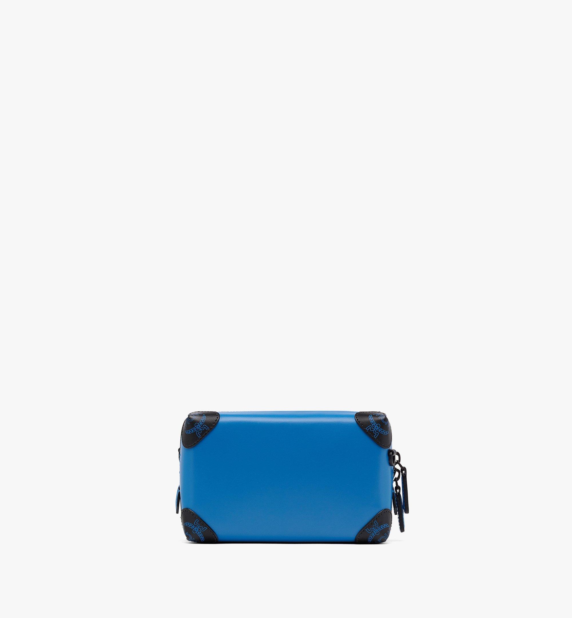 MCM Soft Berlin Crossbody in Spanish Leather Blue MMRBABF01H9001 Alternate View 3