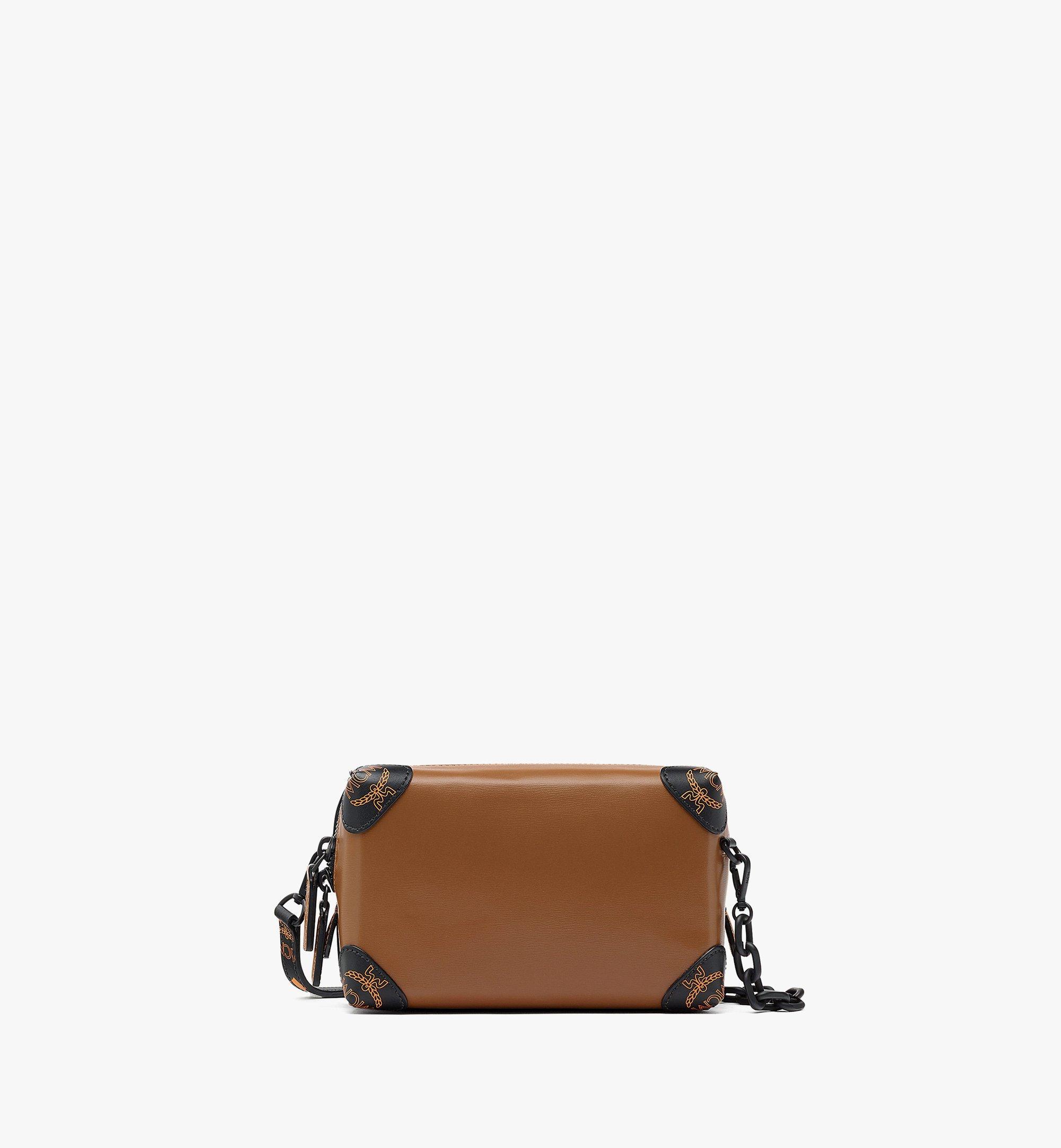 MCM SoftBerlin Crossbody-Tasche aus spanischem Leder Brown MMRBABF01N7001 Noch mehr sehen 1