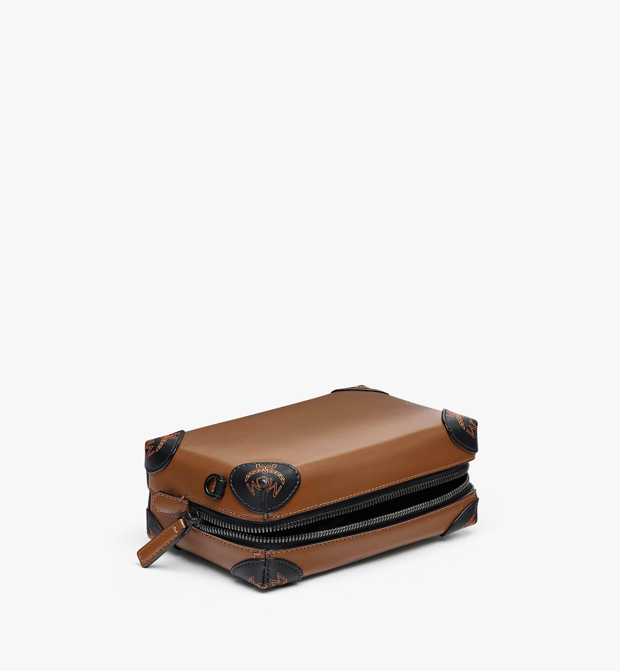 MCM SoftBerlin Crossbody-Tasche aus spanischem Leder Brown MMRBABF01N7001 Noch mehr sehen 2