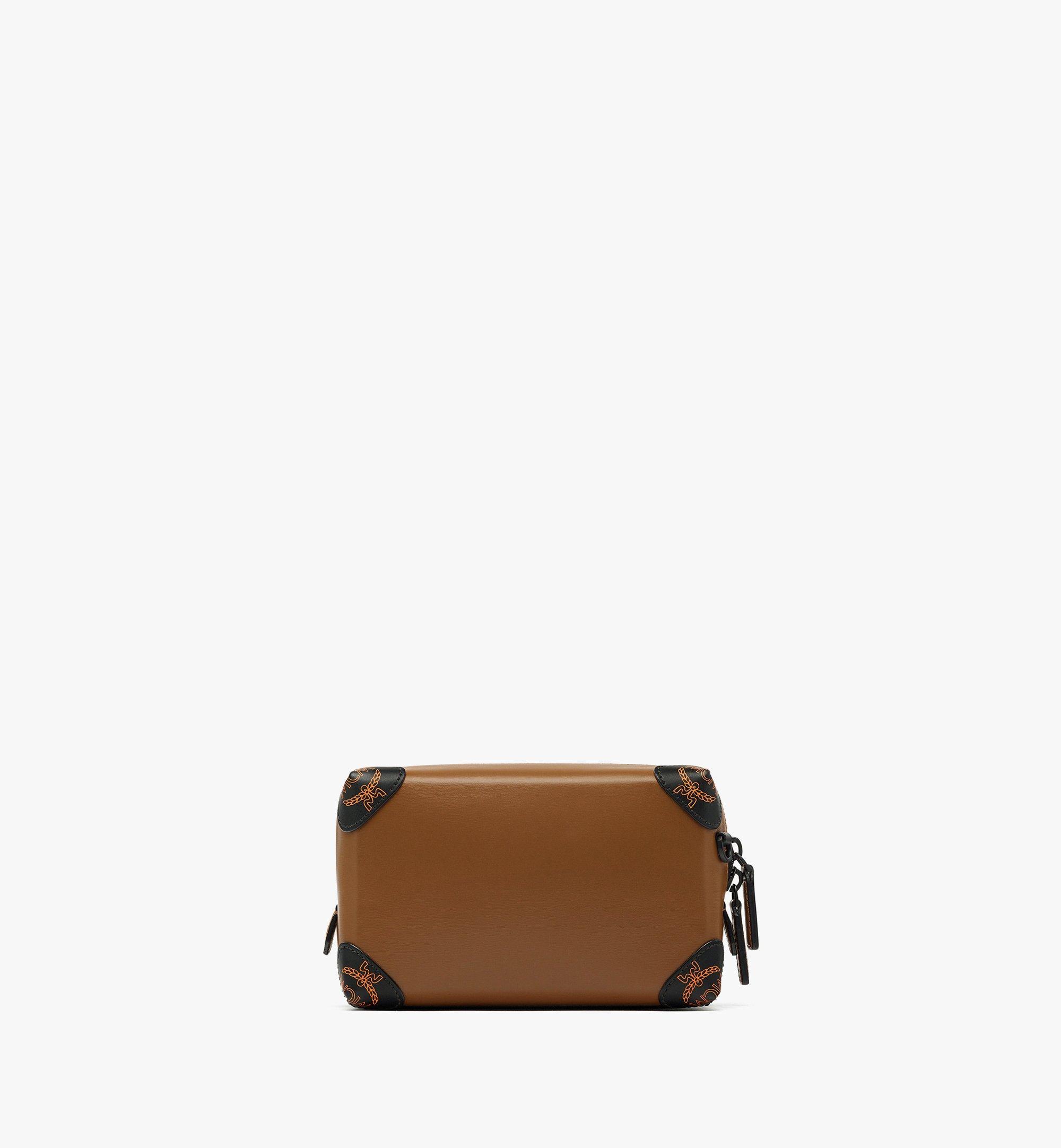 MCM SoftBerlin Crossbody-Tasche aus spanischem Leder Brown MMRBABF01N7001 Noch mehr sehen 3
