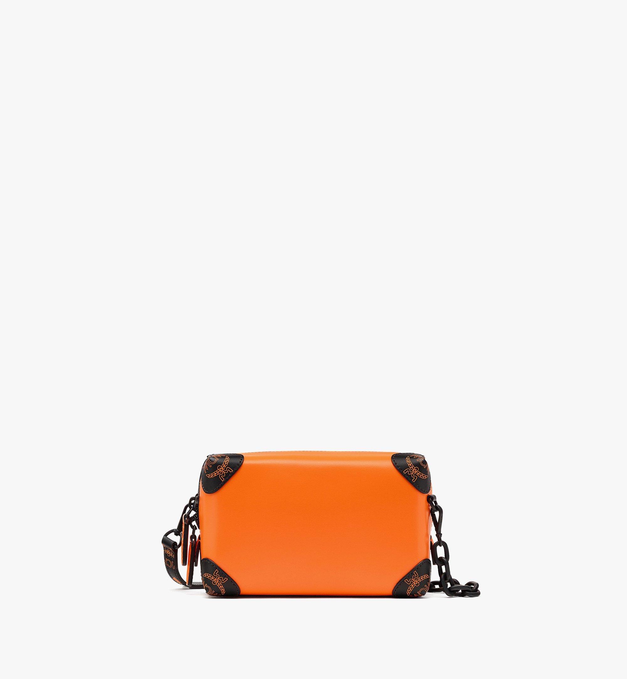 MCM SoftBerlin Crossbody-Tasche aus spanischem Leder Orange MMRBABF01O9001 Noch mehr sehen 1