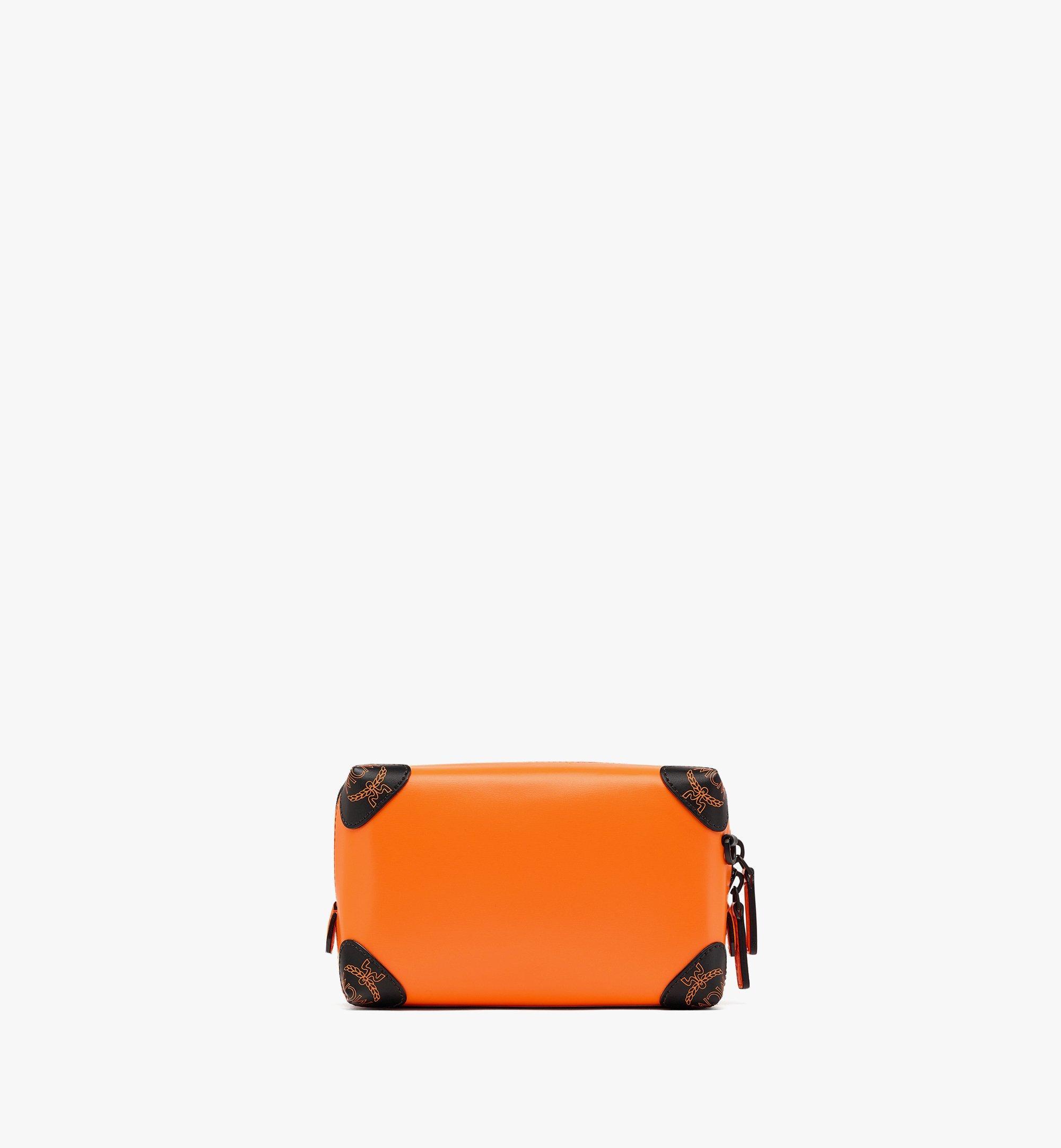 MCM SoftBerlin Crossbody-Tasche aus spanischem Leder Orange MMRBABF01O9001 Noch mehr sehen 3