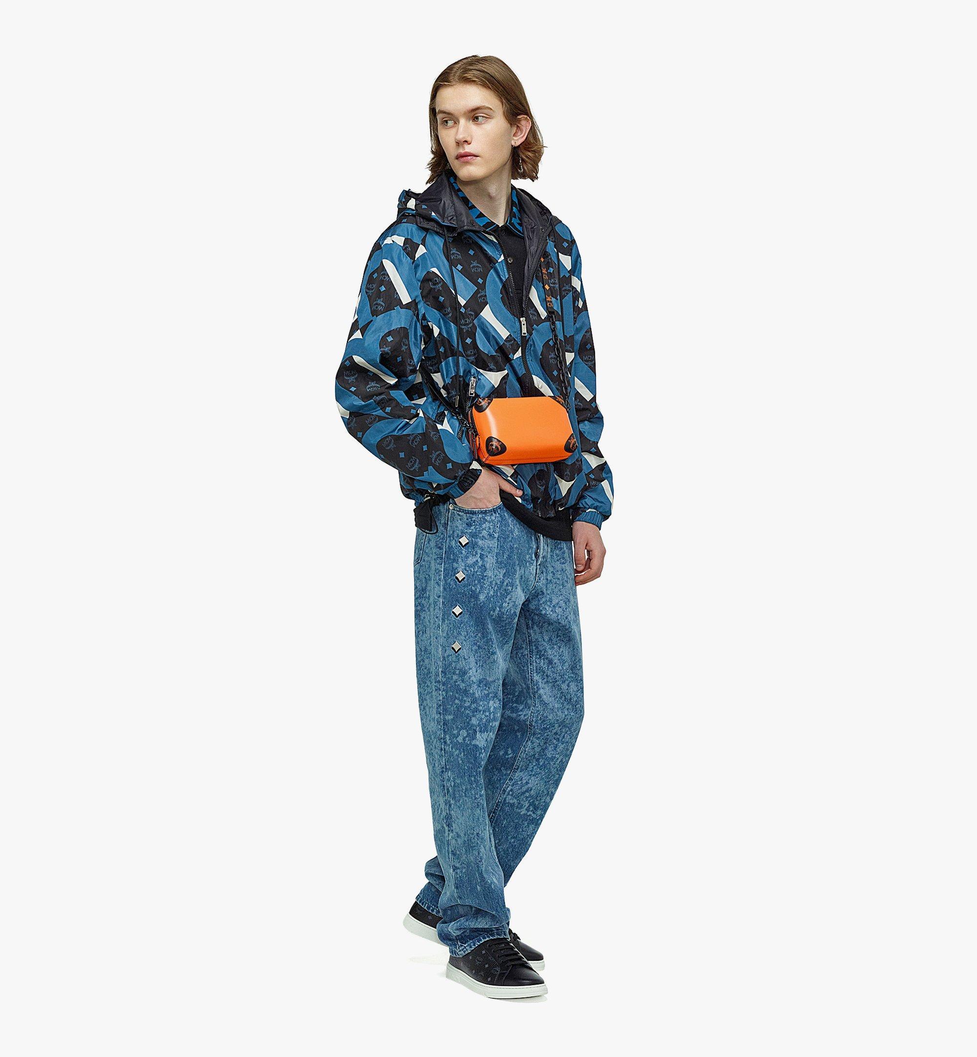 MCM SoftBerlin Crossbody-Tasche aus spanischem Leder Orange MMRBABF01O9001 Noch mehr sehen 4