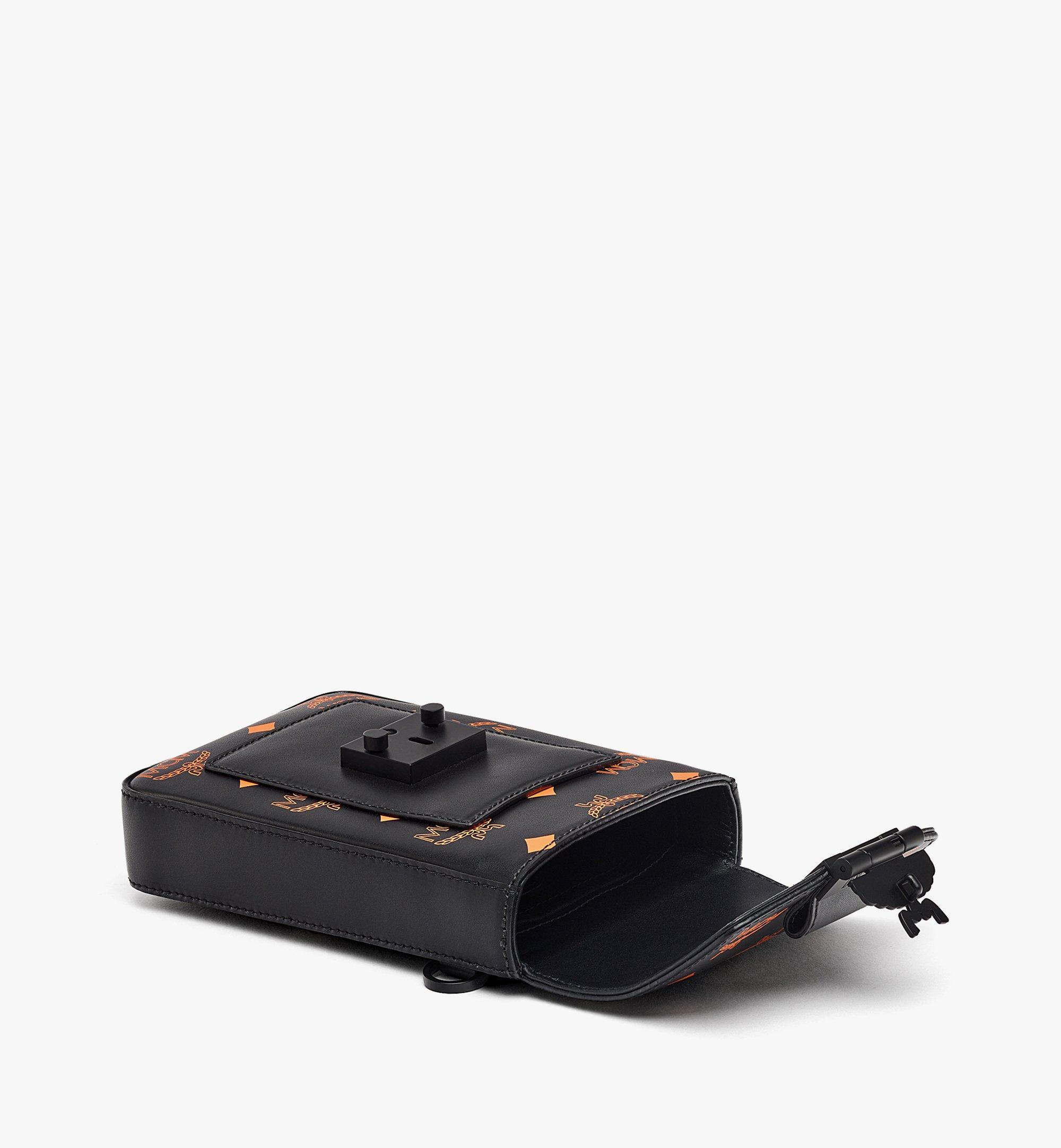 MCM Hochformatige Crossbody-Tasche in ColorSplashVisetos Orange MMRBASX04O9001 Noch mehr sehen 2