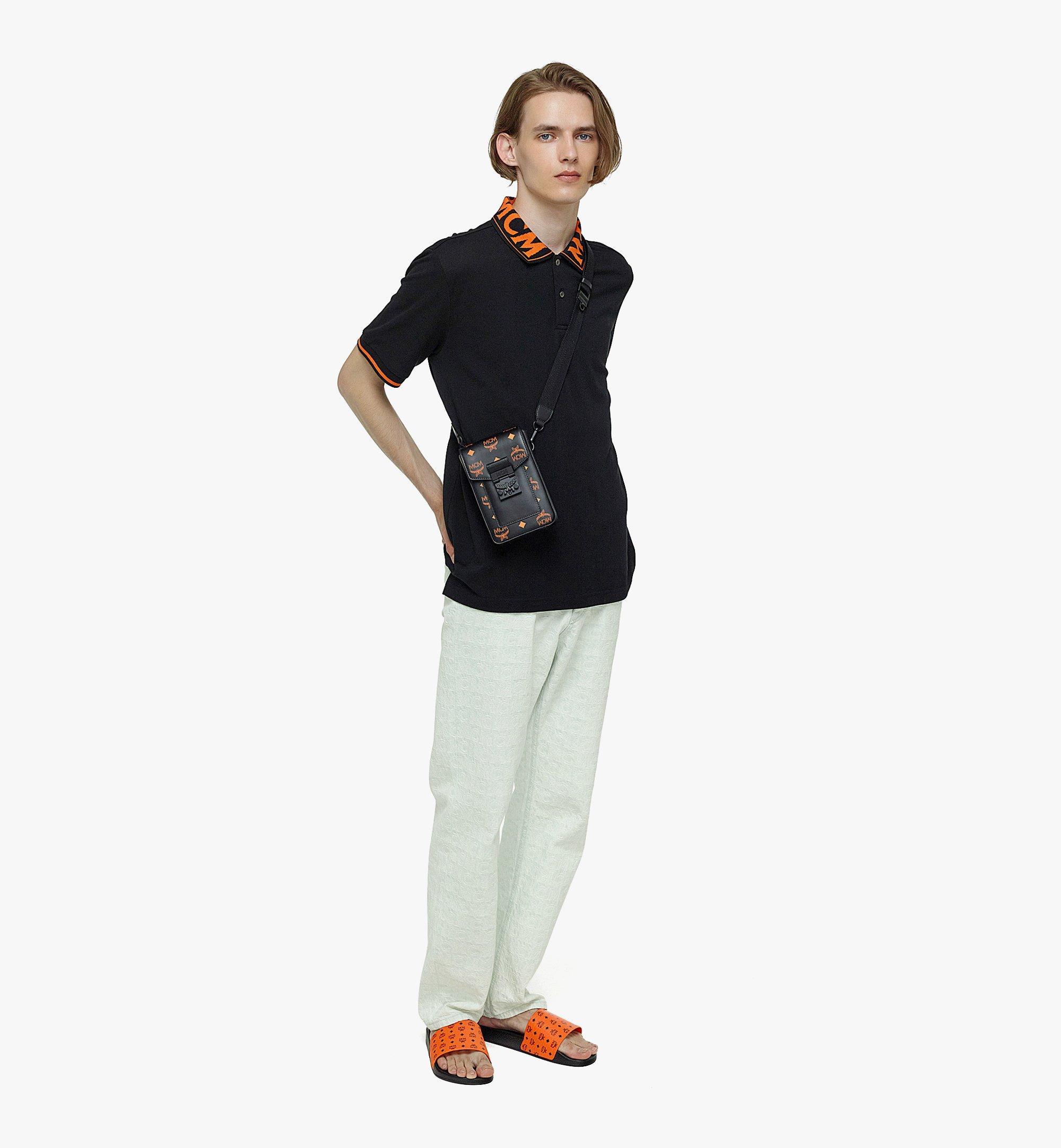 MCM Hochformatige Crossbody-Tasche in ColorSplashVisetos Orange MMRBASX04O9001 Noch mehr sehen 3