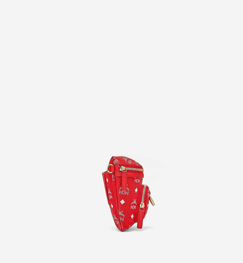 MCM Klassik Crossbody in New Year Visetos Red MMRBSKC01AV001 Alternate View 1
