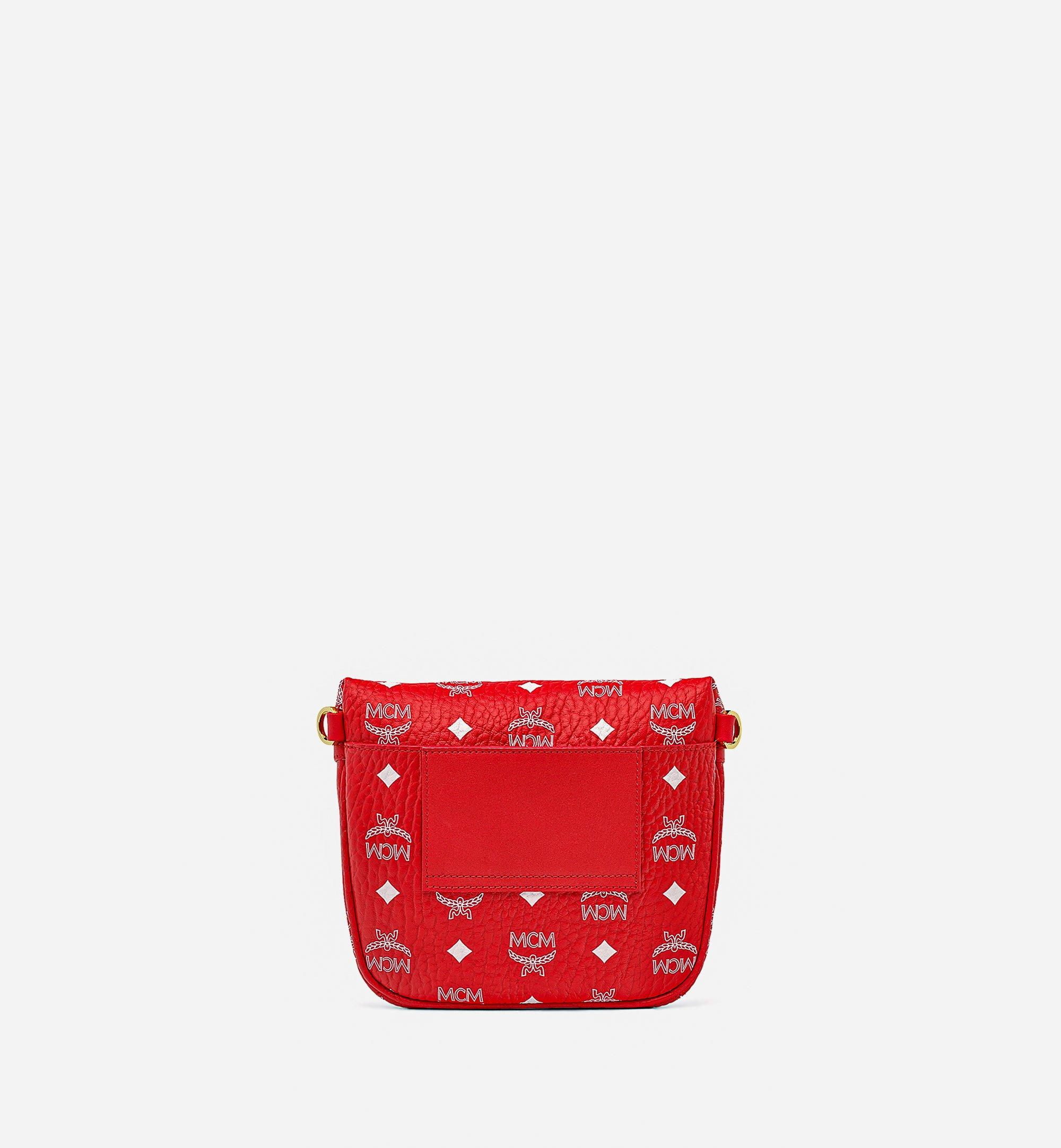 MCM Klassik Crossbody in New Year Visetos Red MMRBSKC01AV001 Alternate View 3