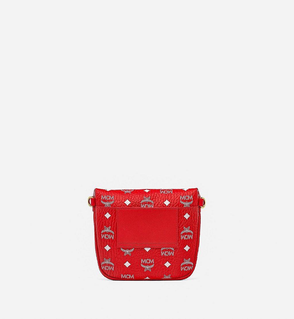 MCM Klassik Crossbody-Tasche in New Year Visetos Red MMRBSKC01AV001 Noch mehr sehen 3