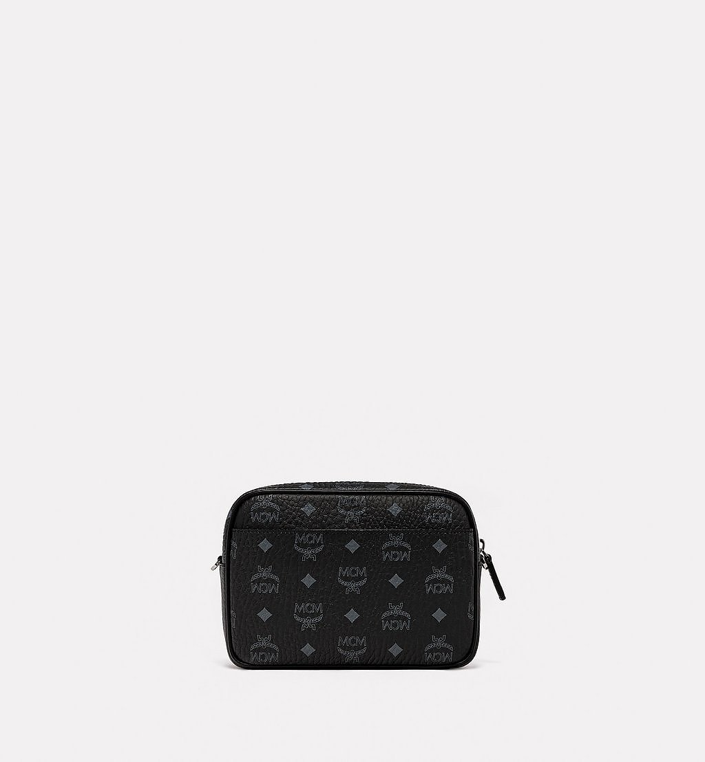 MCM Klassik Crossbody in Geo Graffiti Visetos Black MMRBSKC02BK001 Alternate View 3