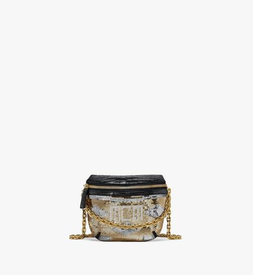 Klassik Crossbody in Geo Croco Sequin Leather
