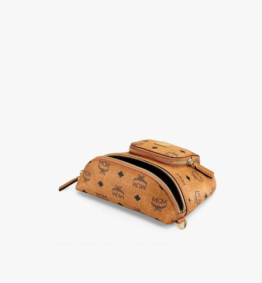 MCM Klassik Crossbody-Tasche in Visetos Cognac MMRBSKC07CO001 Noch mehr sehen 2
