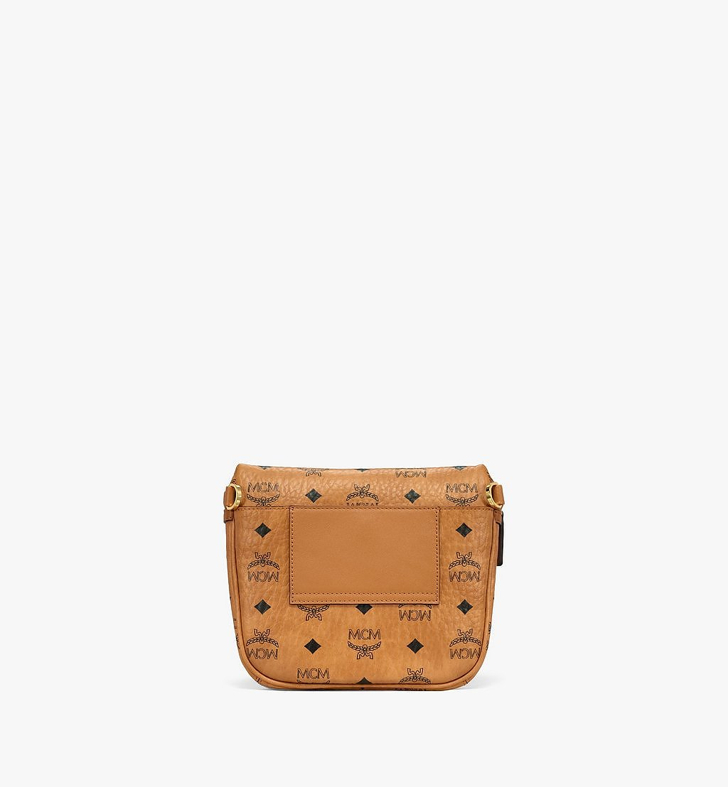 MCM Klassik Crossbody-Tasche in Visetos Cognac MMRBSKC07CO001 Noch mehr sehen 3