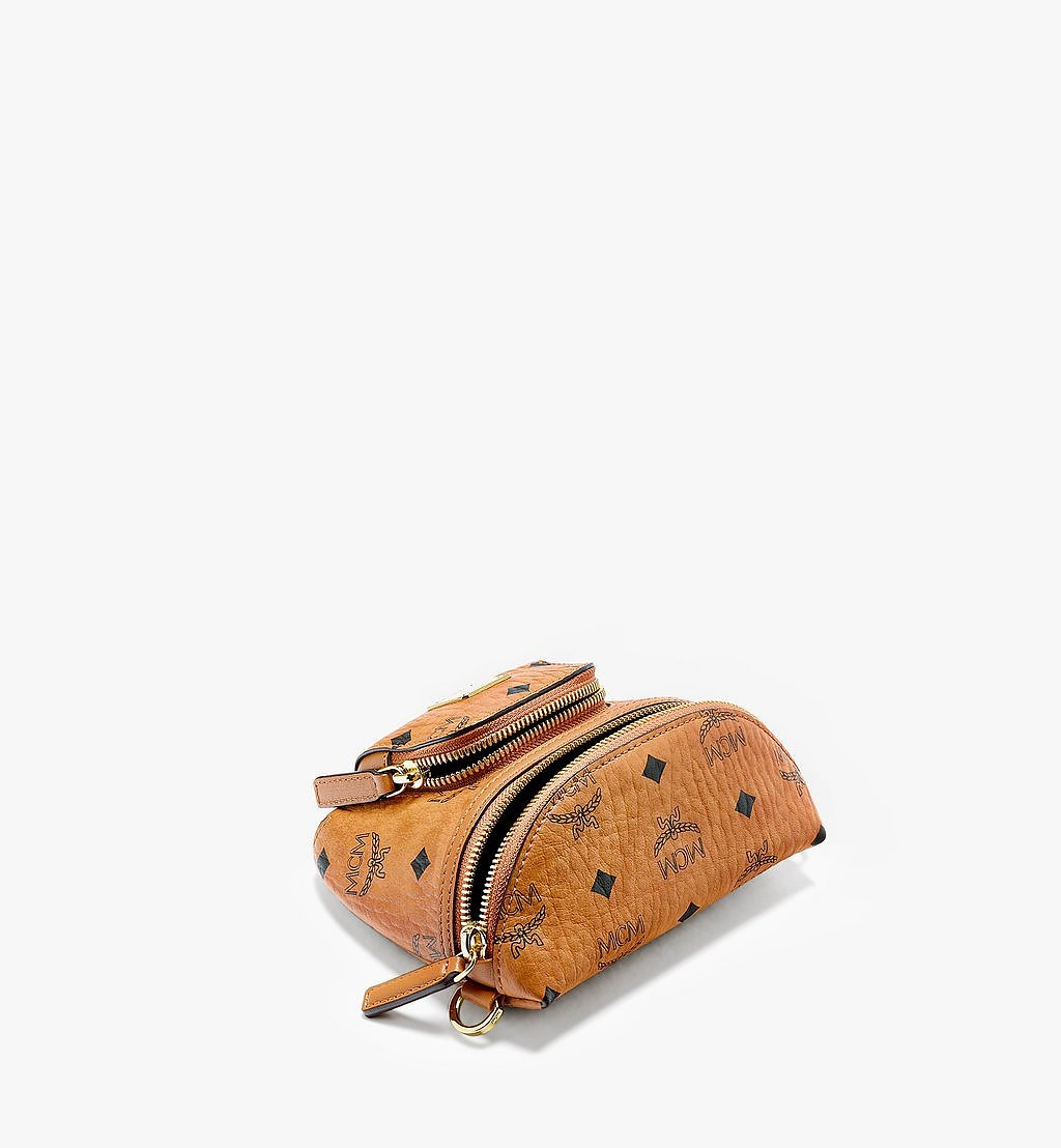 MCM Klassik Crossbody-Tasche in Visetos Cognac MMRBSKC08CO001 Noch mehr sehen 2