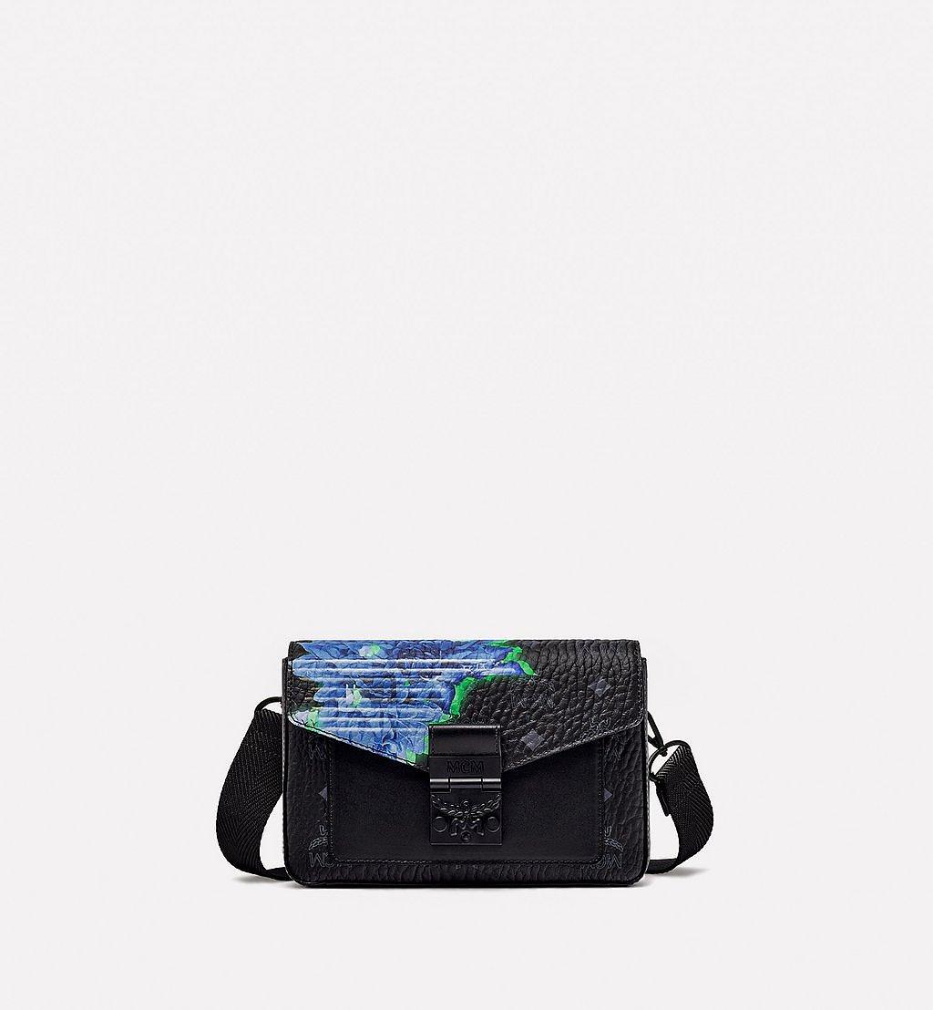MCM Millie Crossbody-Tasche in Tech Flower Visetos Black MMRBSME02BK001 Noch mehr sehen 1