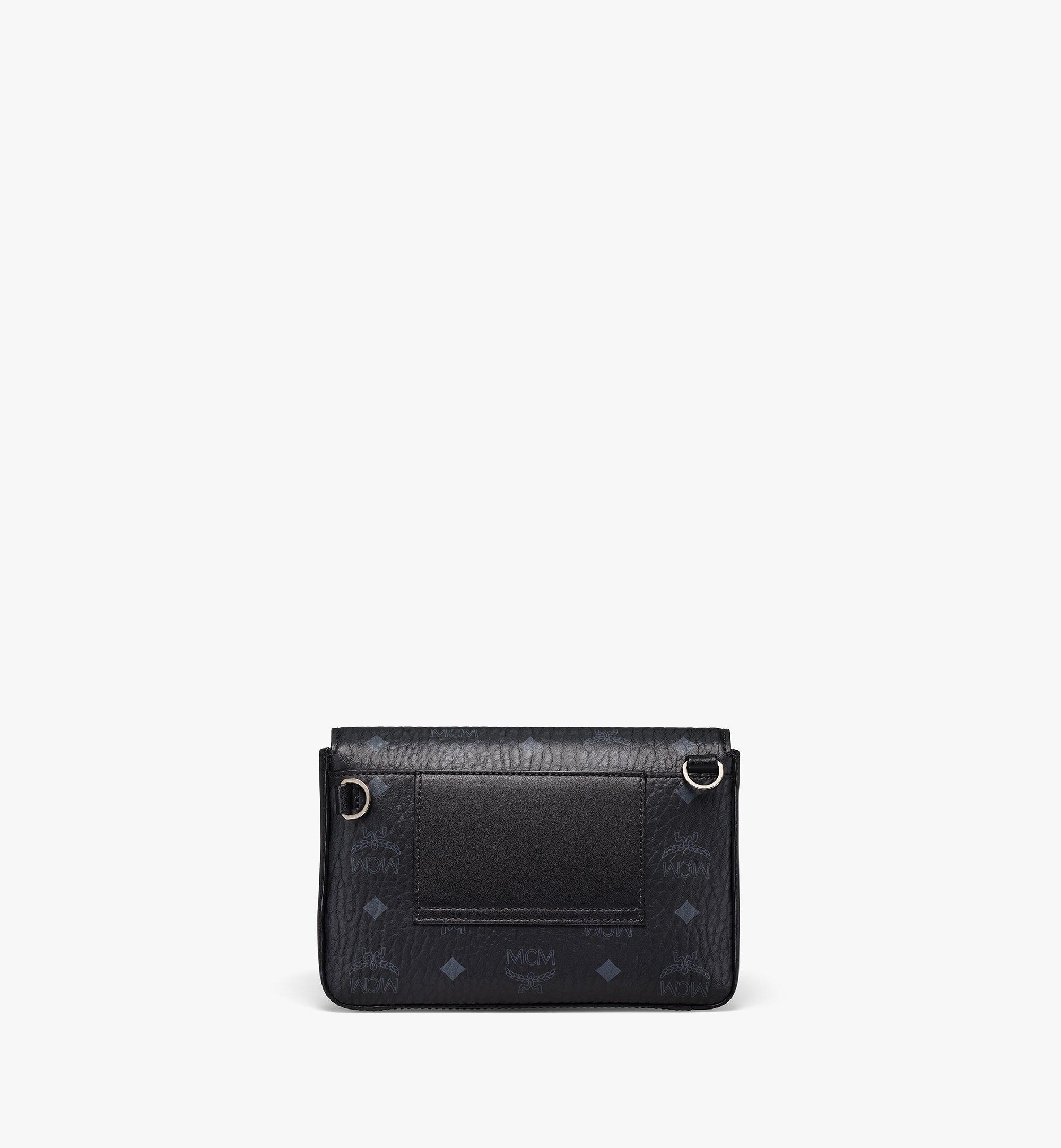 MCM Millie Crossbody-Tasche in Visetos Black MMRBSME03BK001 Noch mehr sehen 3