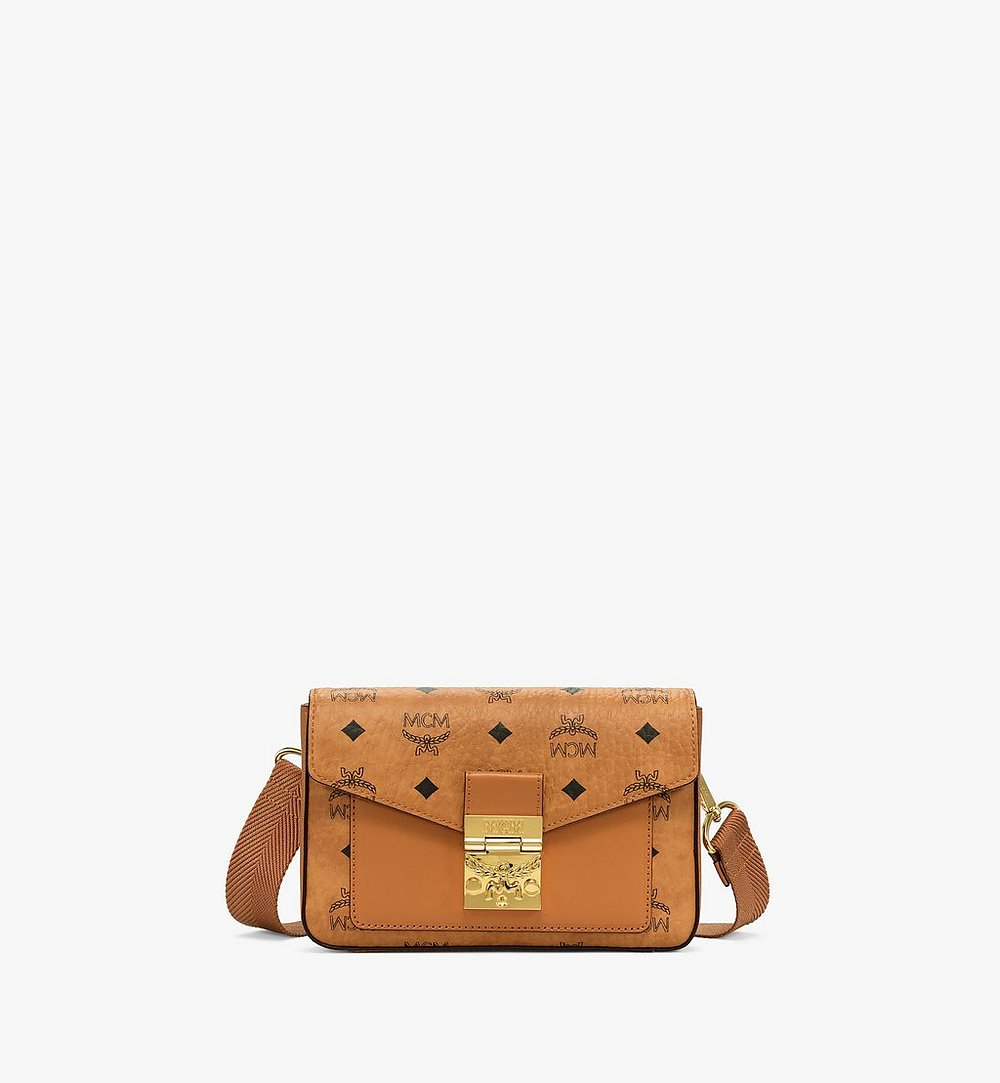 MCM Millie Crossbody in Visetos Cognac MMRBSME03CO001 Alternate View 1