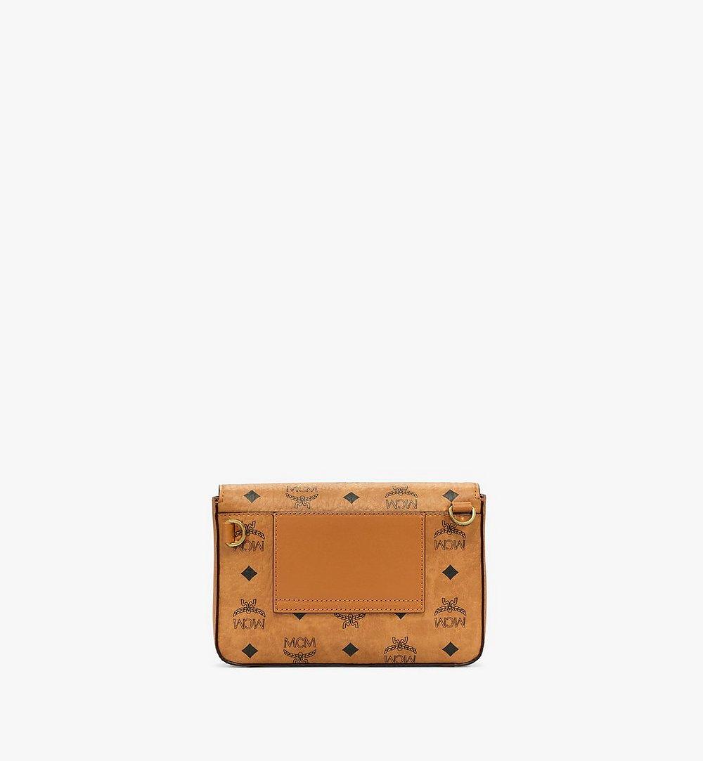 MCM Millie Crossbody-Tasche in Visetos Cognac MMRBSME03CO001 Noch mehr sehen 3