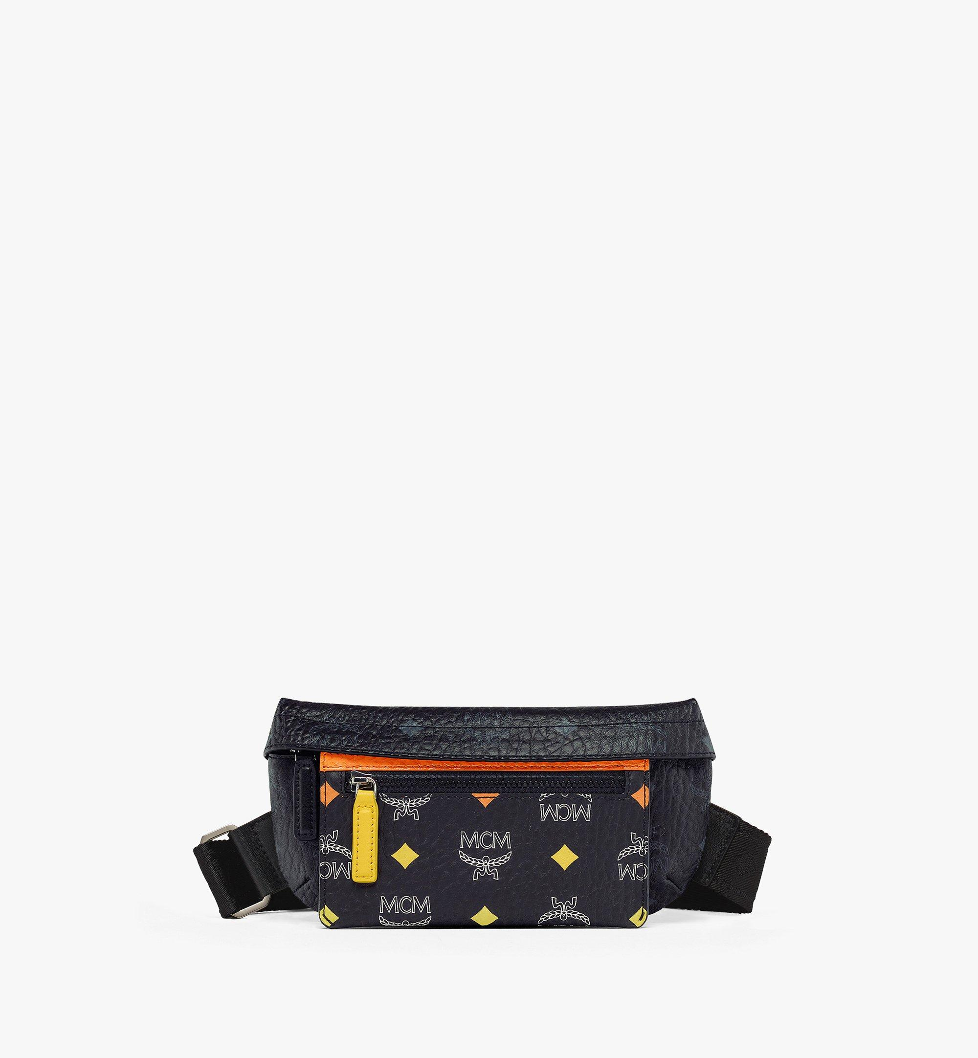 MCM Upcycling Project Crossbody in Visetos Black MMRBSUP01BK001 Alternate View 2