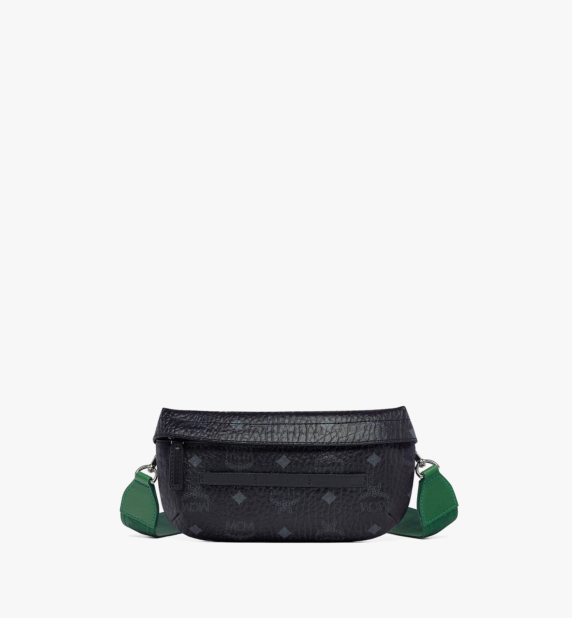 MCM Upcycling Project Crossbody in Visetos Green MMRBSUP01GR001 Alternate View 1