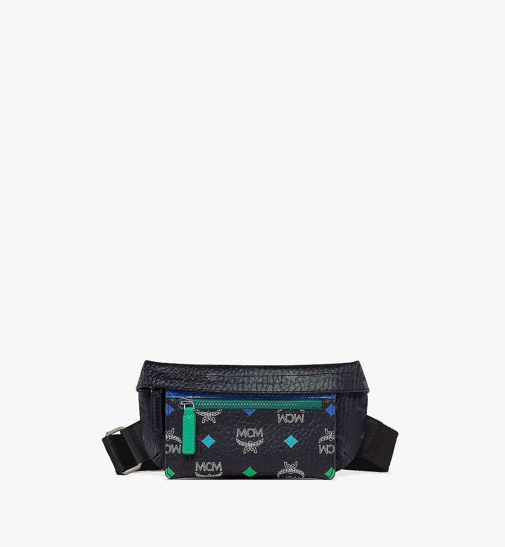 MCM Upcycling Project Crossbody in Visetos Green MMRBSUP01GR001 Alternate View 2