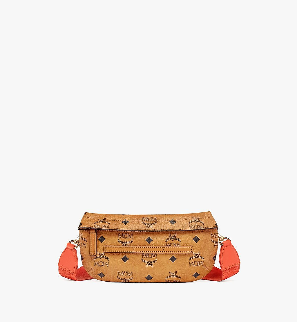 MCM Upcycling Project Crossbody in Visetos Orange MMRBSUP01OR001 Alternate View 1