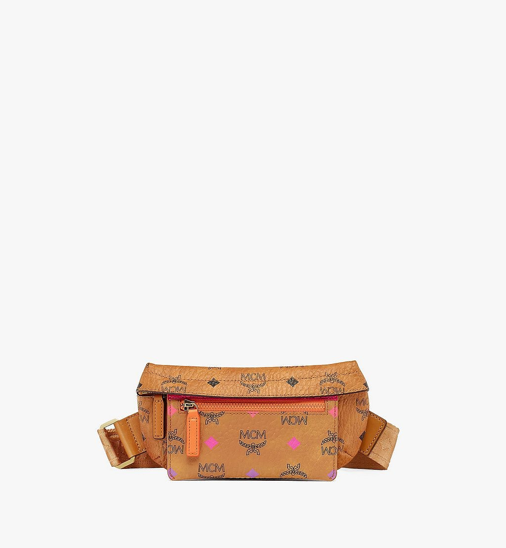 MCM Upcycling Project Crossbody in Visetos Orange MMRBSUP01OR001 Alternate View 2