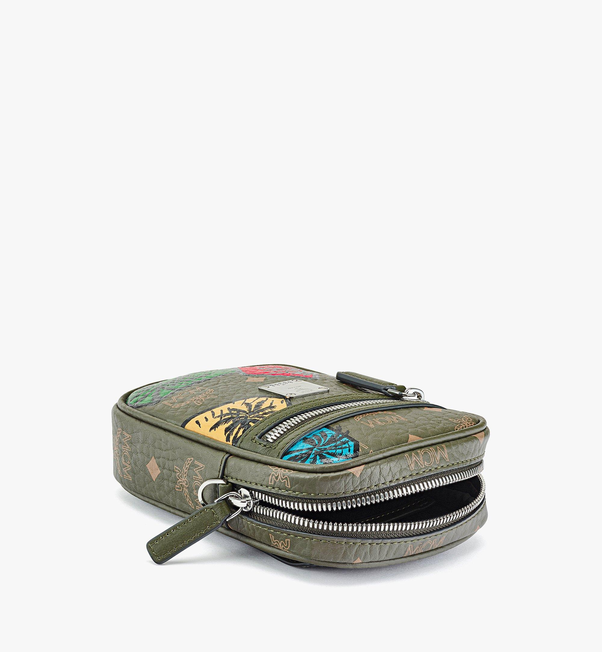 MCM Hawaii Upcycling Project Crossbody in Visetos Green MMRBSUP02JH001 Alternate View 2