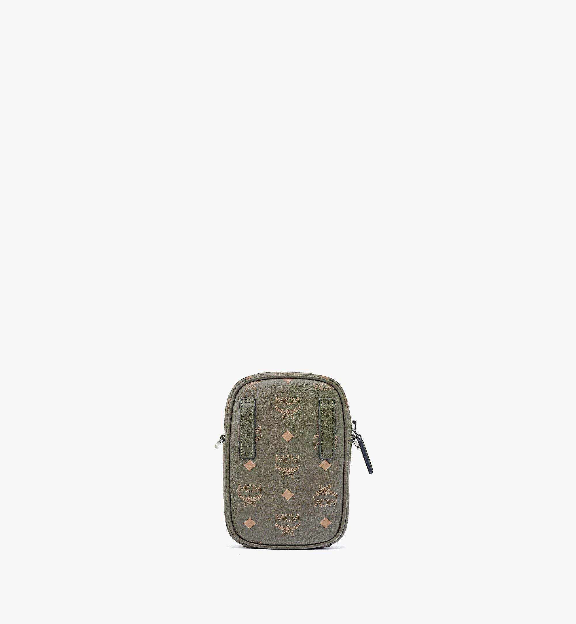 MCM Hawaii Upcycling Project Crossbody in Visetos Green MMRBSUP02JH001 Alternate View 3
