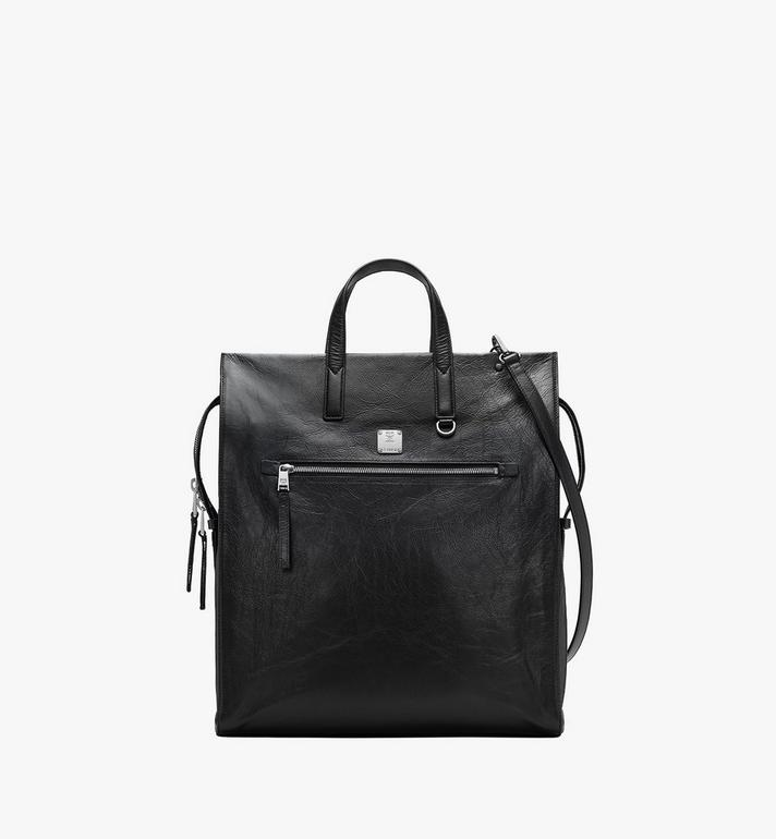 MCM Klassik Tote in Crushed Leather Alternate View