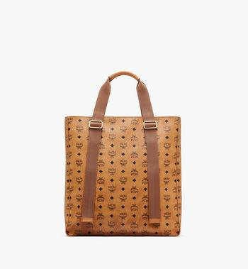 MCM Klassik Tragetasche in Visetos Cognac MMTASKC02CO001 Alternate View 3