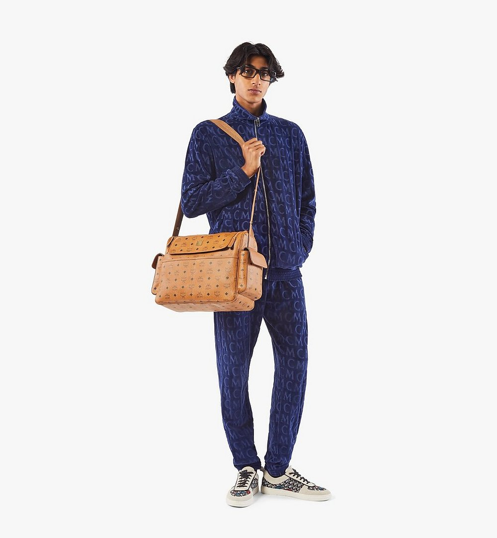 MCM Klassik Diaper Bag in Visetos Cognac MMVAAKC01CO001 Alternate View 5