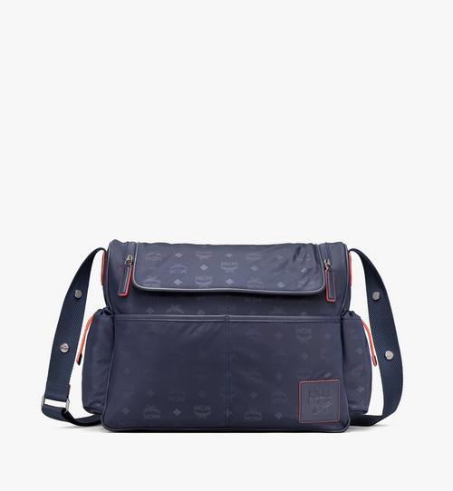 Klassik Wickeltasche aus Nylon mit Monogramm