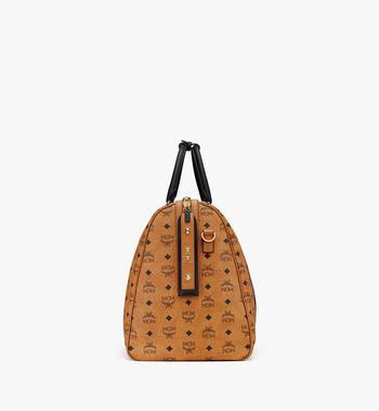 MCM Traveler Weekender Bag in Visetos Cognac MMVASVY03CO001 Alternate View 2