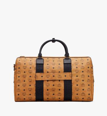 MCM Traveler Weekender Bag in Visetos Cognac MMVASVY04CO001 Alternate View 3