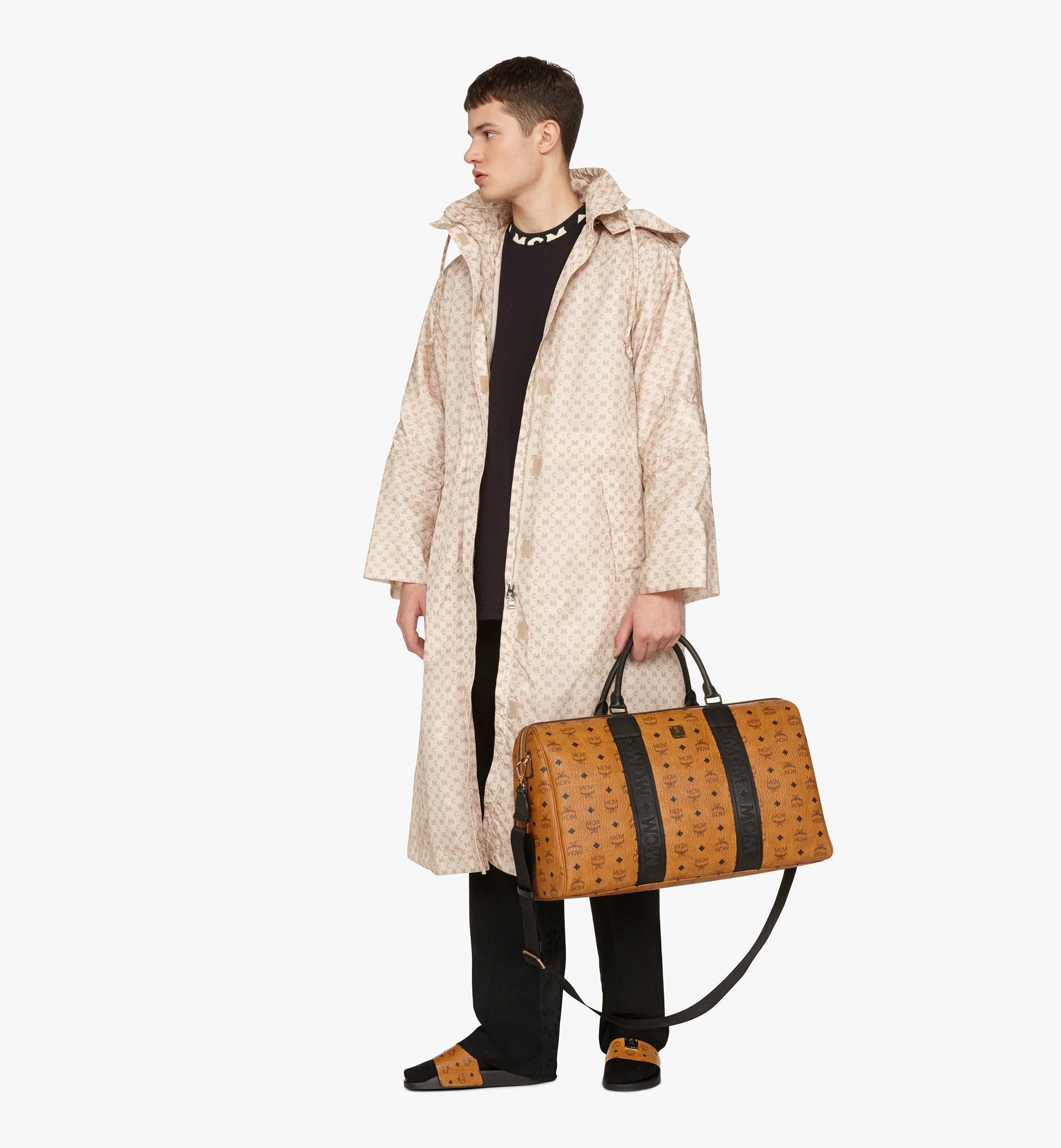 MCM Traveler Weekender Bag in Visetos Cognac MMVASVY04CO001 Alternate View 2