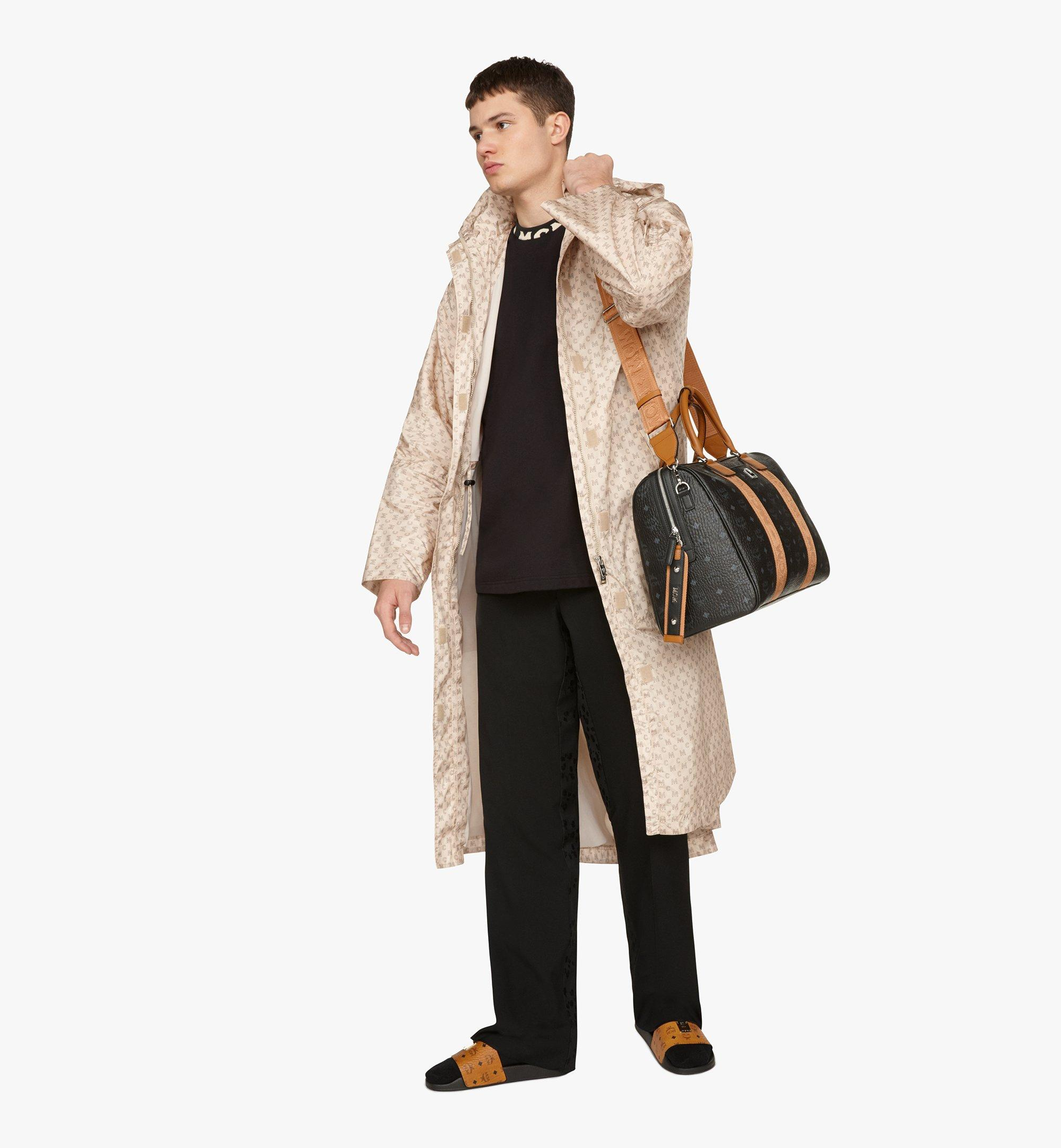 MCM Traveler Weekender Bag in Visetos Black MMVASVY05BK001 Alternate View 6