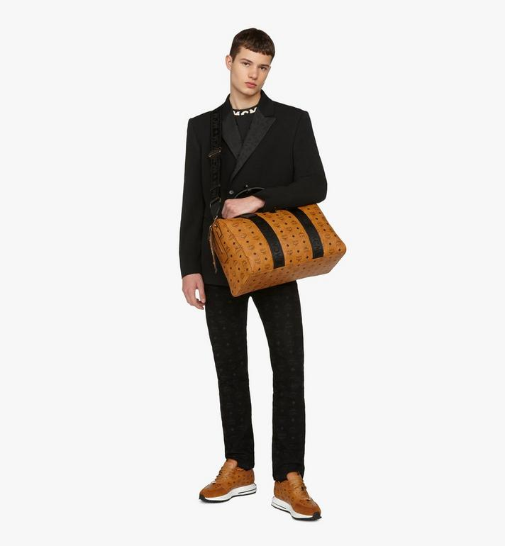 MCM Traveler Weekender Bag in Visetos Cognac MMVASVY05CO001 Alternate View 6