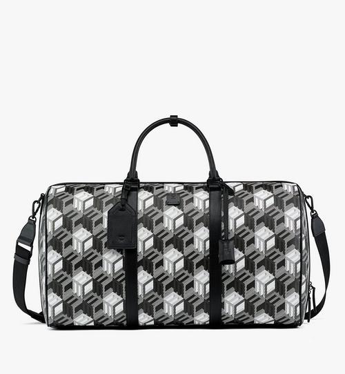 Traveler Weekender Bag in Cubic Monogram Canvas