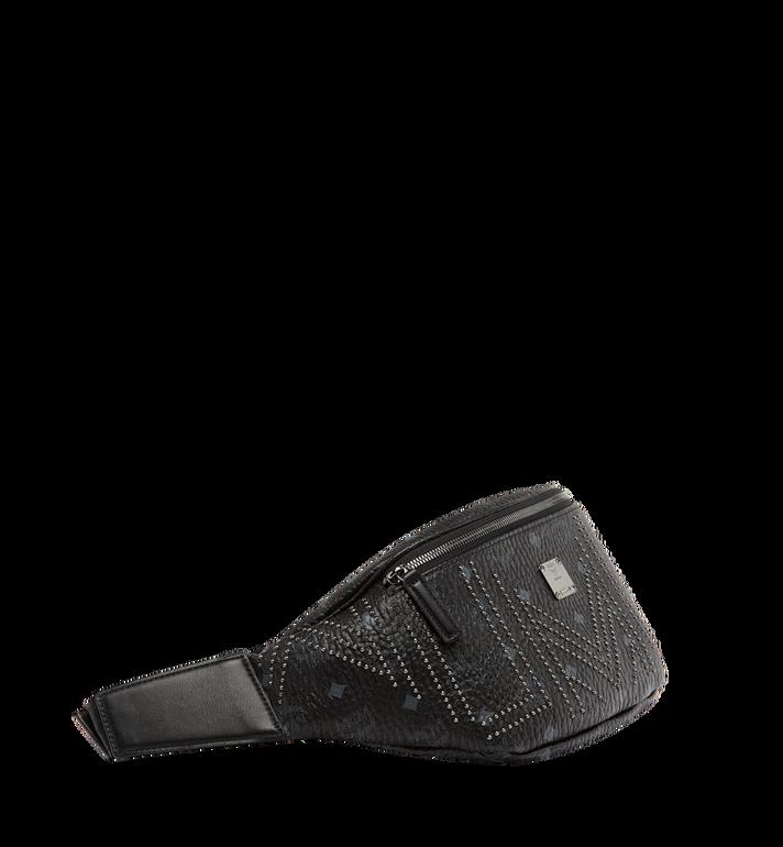 MCM Stark Belt Bag in Gunta M Studs Visetos Alternate View 2