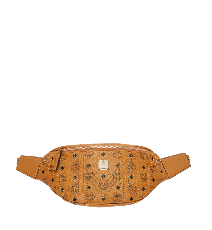 MCM Stark Belt Bag in Gunta M Studs Visetos MMZ8AVE56CO001 AlternateView