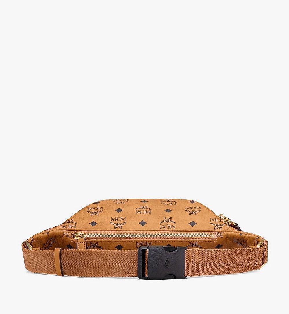 MCM Fursten Belt Bag in Visetos Cognac MMZAAFI01CO001 Alternate View 2