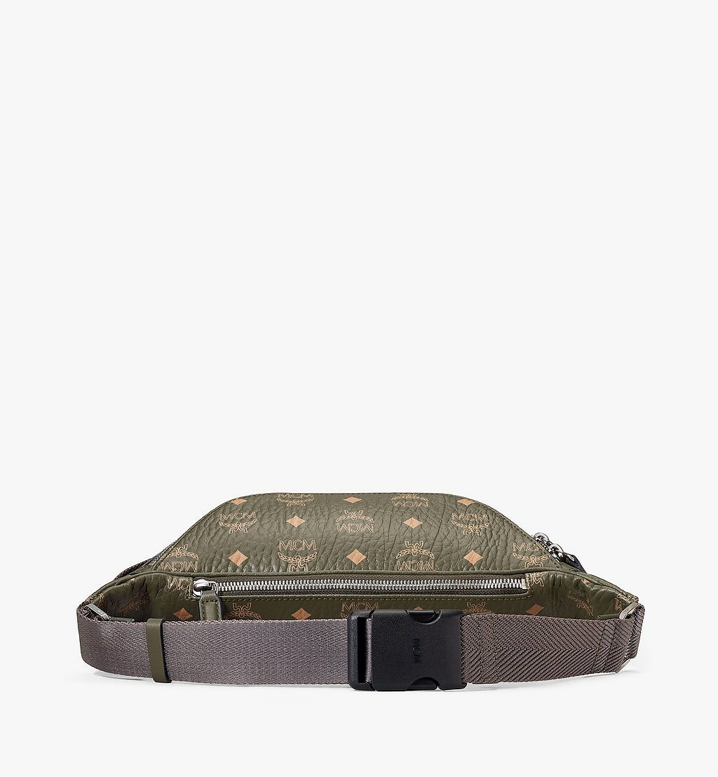 MCM Fursten Belt Bag in Visetos Green MMZAAFI01JH001 Alternate View 2