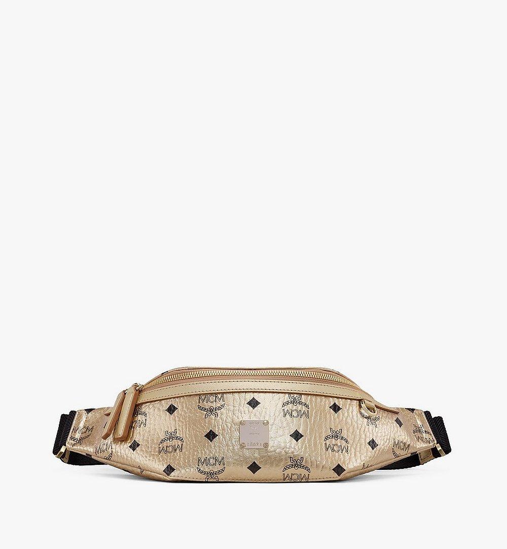 MCM Fursten Belt Bag in Visetos Gold MMZAAFI03T1001 Alternate View 1