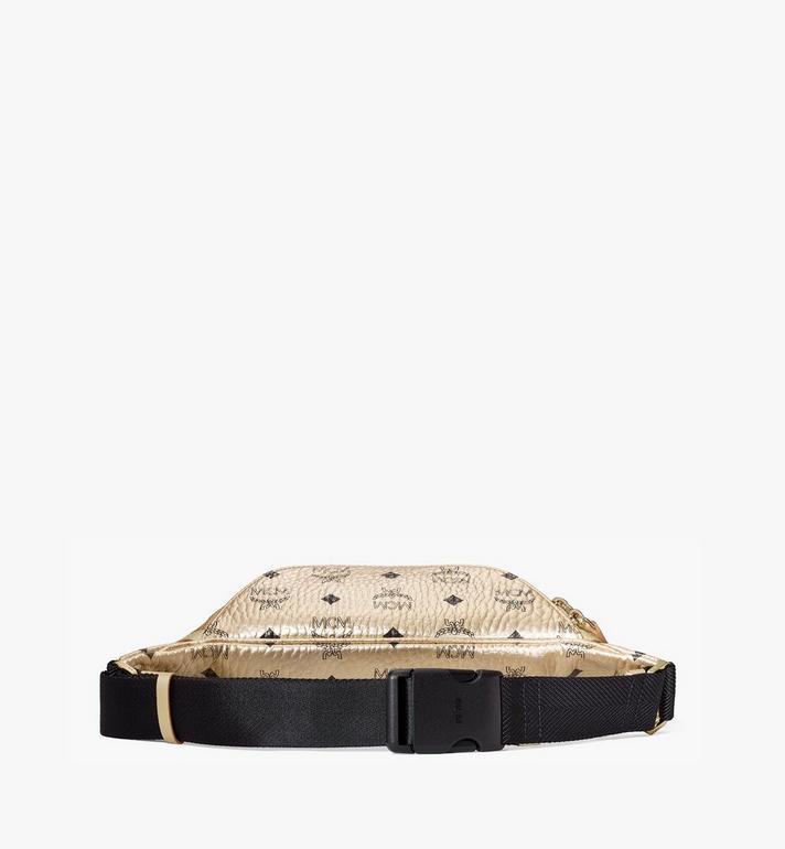 MCM Fursten Belt Bag in Visetos Gold MMZAAFI03T1001 Alternate View 3