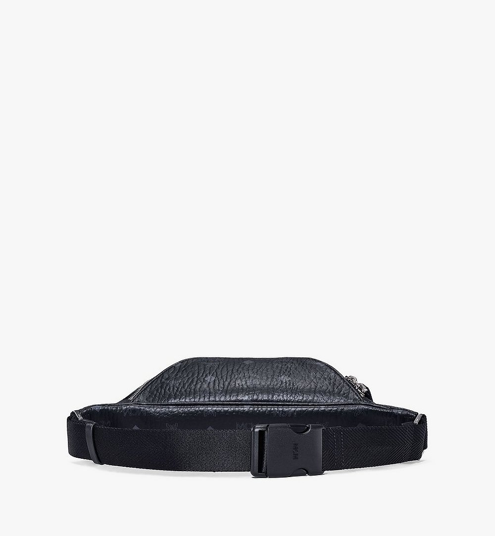 MCM Fursten Belt Bag in Visetos Black MMZAAFI04BK001 Alternate View 2