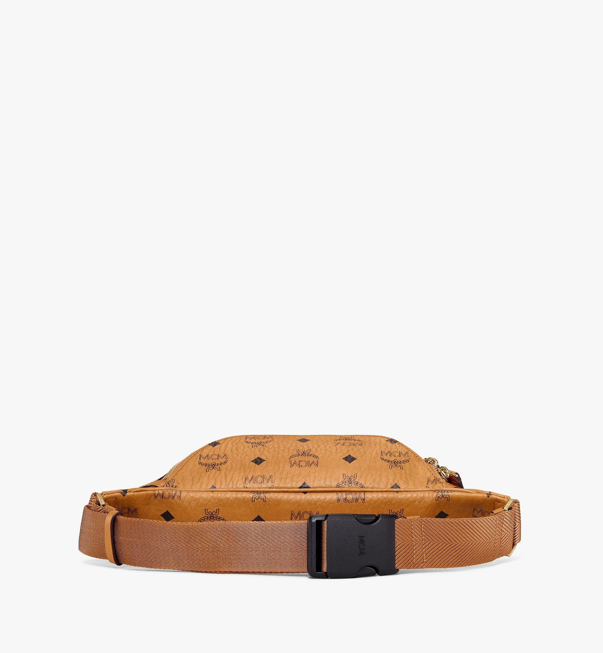 MCM Fursten Belt Bag in Visetos Cognac MMZAAFI04CO001 Alternate View 2
