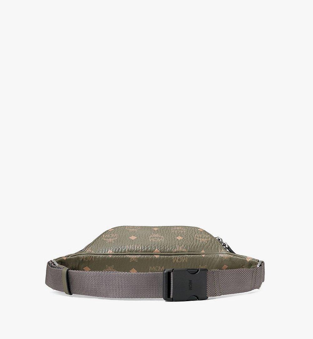 MCM Fursten Belt Bag in Visetos Green MMZAAFI04JH001 Alternate View 2