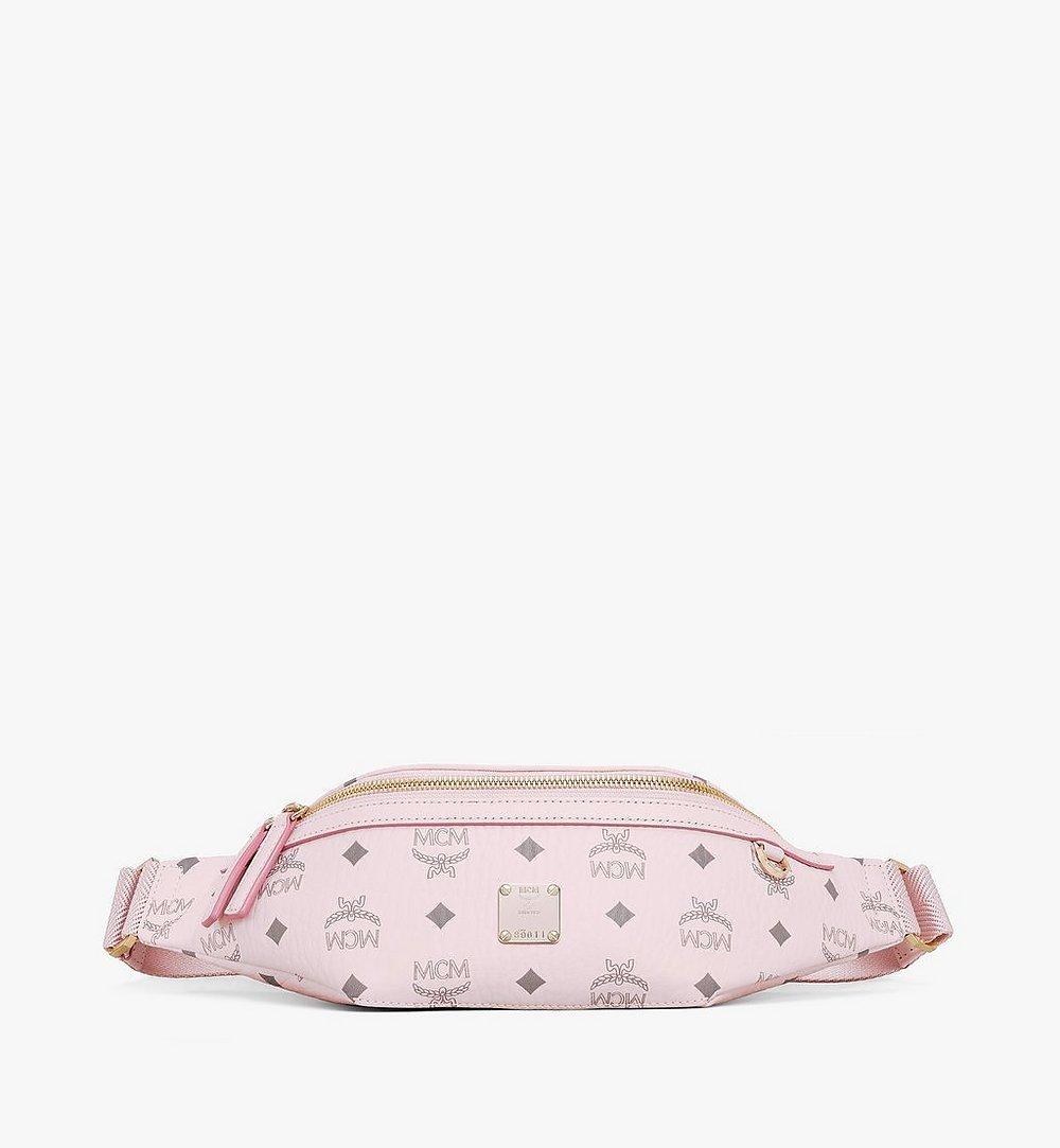 MCM Fursten Belt Bag in Visetos Pink MMZAAFI04QH001 Alternate View 1