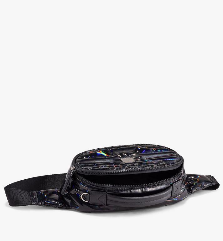 MCM Fursten Belt Bag in Tec-Quilt Fabric Black MMZAAFI06BK001 Alternate View 2