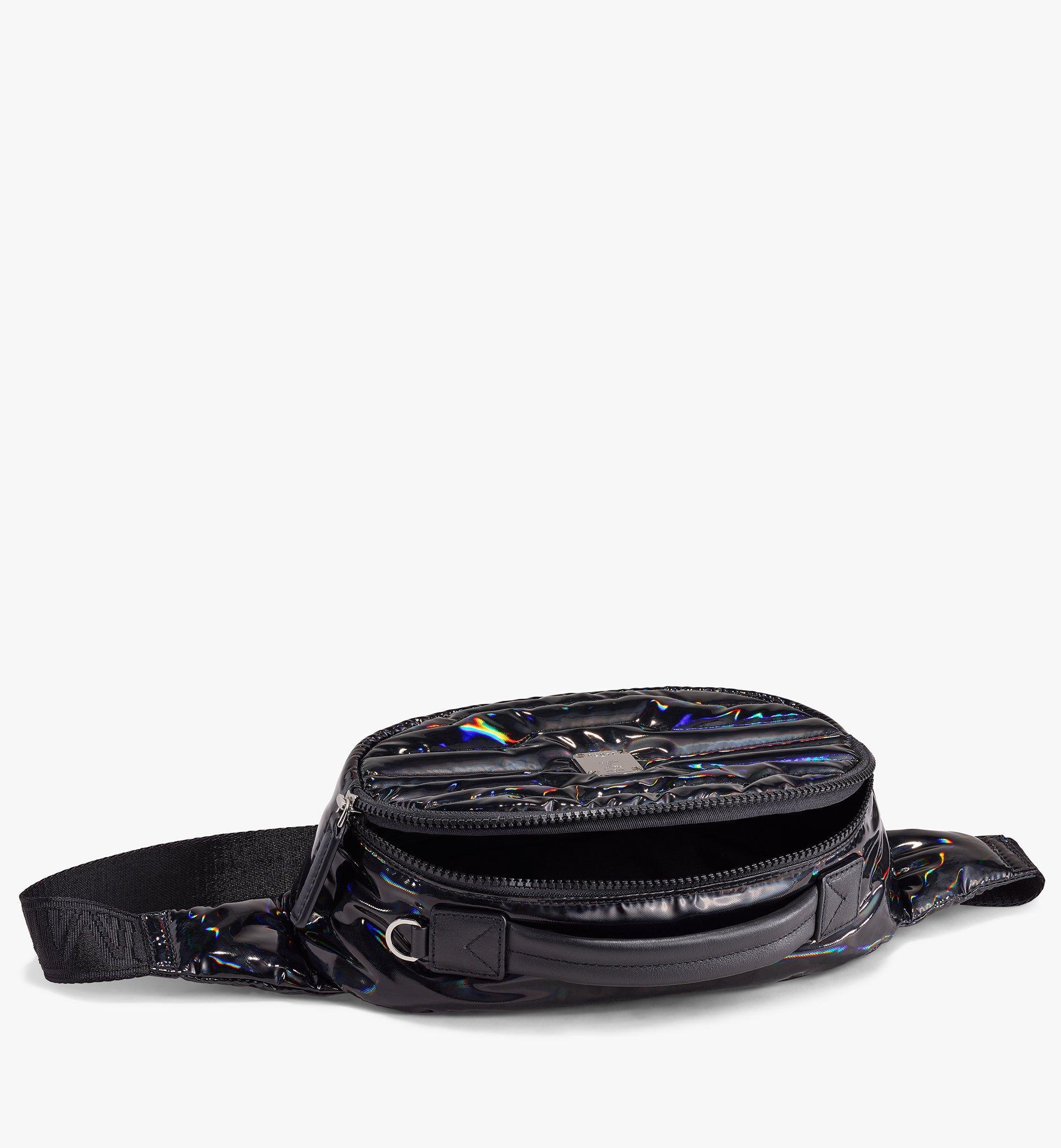 MCM Sac ceinture Fursten en tissu Tec-Quilt Black MMZAAFI06BK001 Alternate View 2